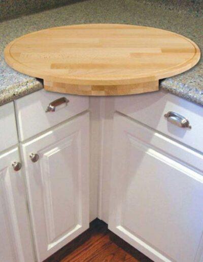 صفحه ای چوبی برای میز کار آشپزخانه