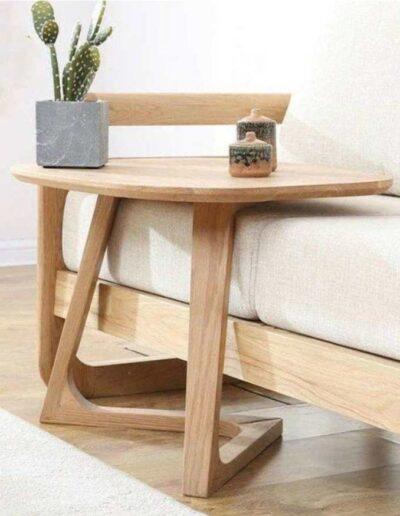 میز کنار مبل