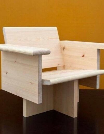 مبل و صندلی چوبی جالب سبک مدرن