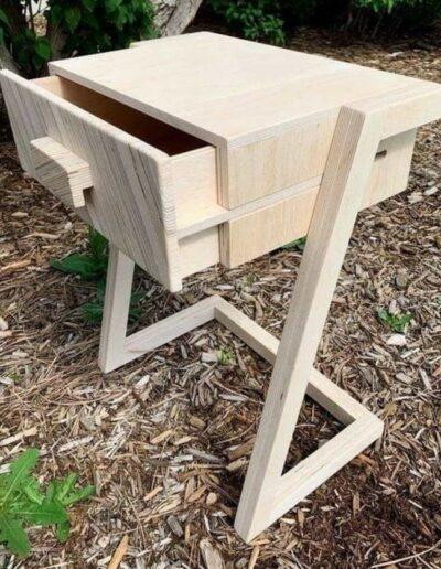 میز چوبی سبک مدرن , میز کنسول , میز کشو دار , میز تحریر