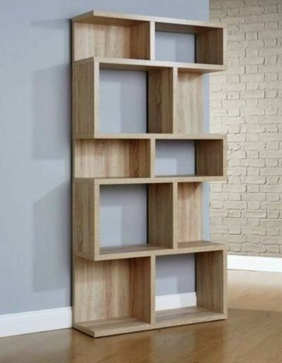 قفسه کتاب , کتابخانه چوبی