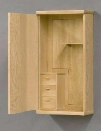 قفسه و کمد چوبی