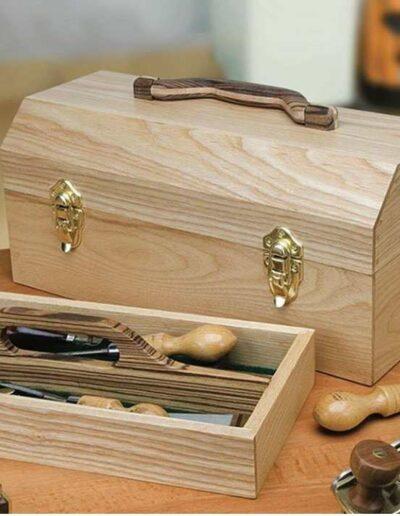 جعبه ابزار نجاری چوبی