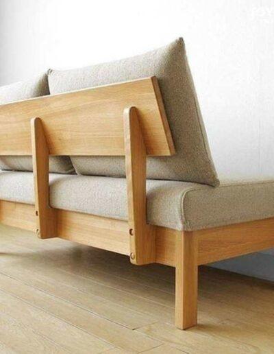 مبل چوبی