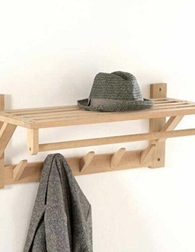 جا کلاهی و جالباسی چوبی , ایده و مدل های جالب دکوراسیون چوبی