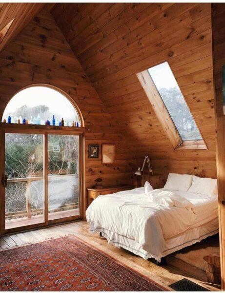 ایده های جالب برای ساخت کلبه چوبی
