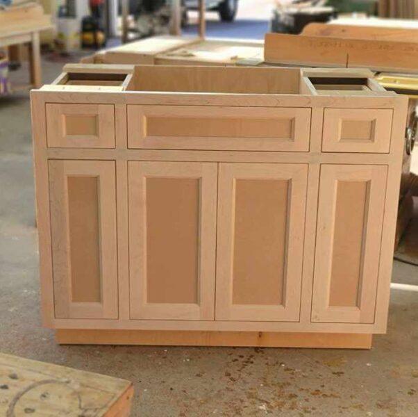 کابینت چوبی, کابینت تمام چوب , ساخت کابینت