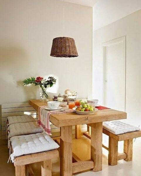 میز و نیمکت چوب بلوط , میز ناهارخوری تمام چوب