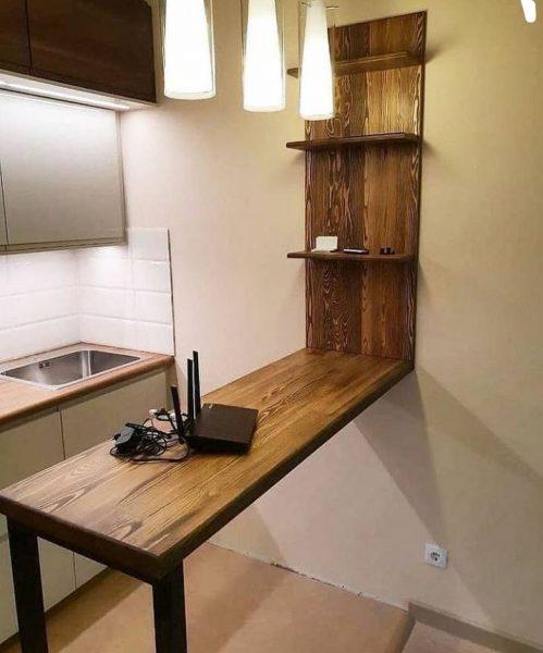 میز اپن آشپزخانه , میز و شلف دیاری آشپزخانه