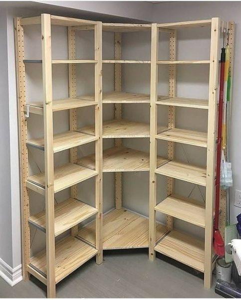قفسه و طبقه بندی چوبی