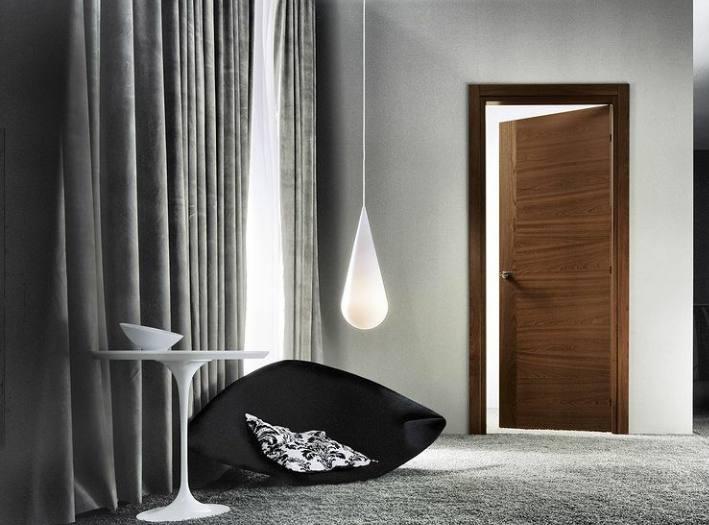 انواع درب چوبی سفارش , مدل های درب چوبی
