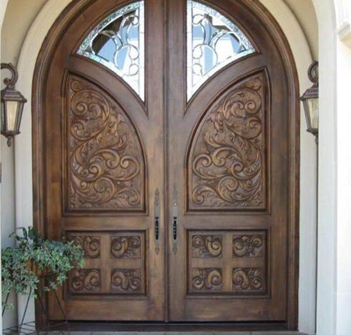 عکس انواع مدل درب چوبی , درب ورودی , درب اتاقی و ..