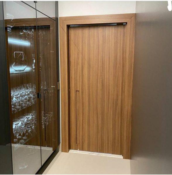 درب چوبی اتاقی، مدل درب
