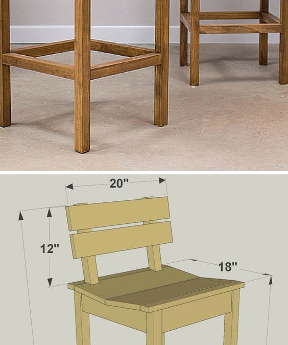 صندلی میز بار , صندلی اپن چوبی, چهارپایه چوبی میز بار آشپزخانه