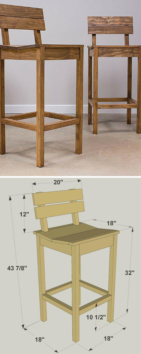 مدل صندلی اپن آشپزخانه چوبی