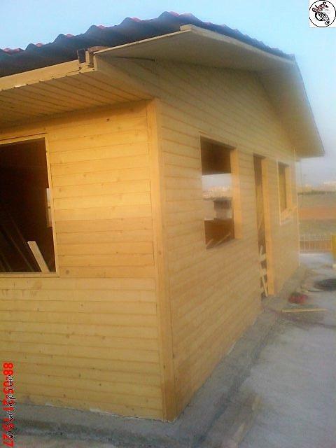 ساخت کلبه چوبی سبک و زیبا