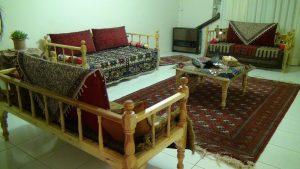 پشتی، مبلمان راحت خانه ایرانی