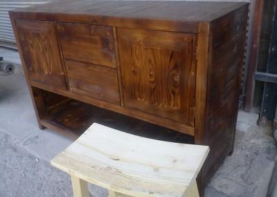 دکوراسیون چوبی عکس کنسول چوبی