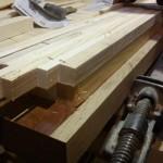 ساخت فینگر جوینت ، بدنه ماستیو تمام چوب