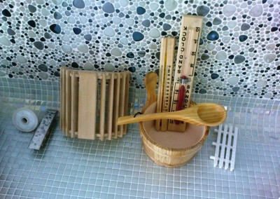 گالری تصاویر و نمونه کار سونای خشک ساخته شده توسط گروه سونا سازان