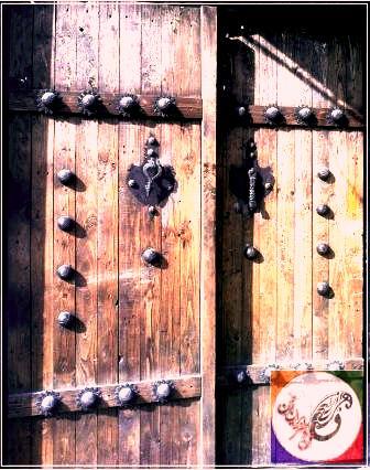 درب چوبی قدیمی , درب چوبی سنتی