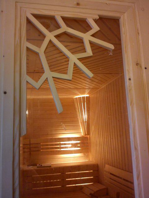 ساخت سونای خشک لوکس و استاندارد