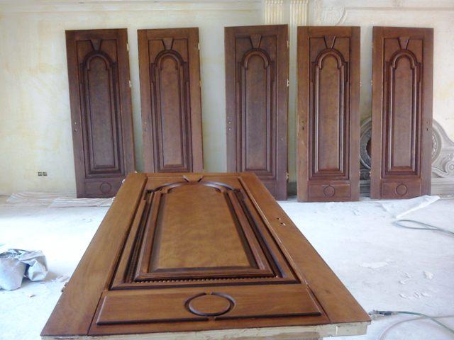 درب و چهارچوب چوبی