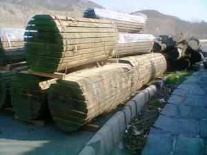 انواع چوب تخته الوار کاج راش