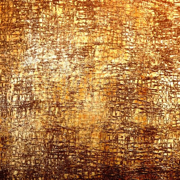 پتینه کاری ، رنگ ورق طلا