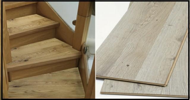 چوب کف پله