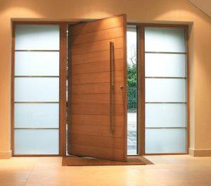 مدل درب چوبی , ایده و عکس دکوراسیون درب ورودی