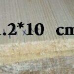 چوب چهار تراش 1.2*10*300 سانت