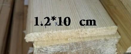 چوب چهار تراش ابعاد 1.2*10 سانت
