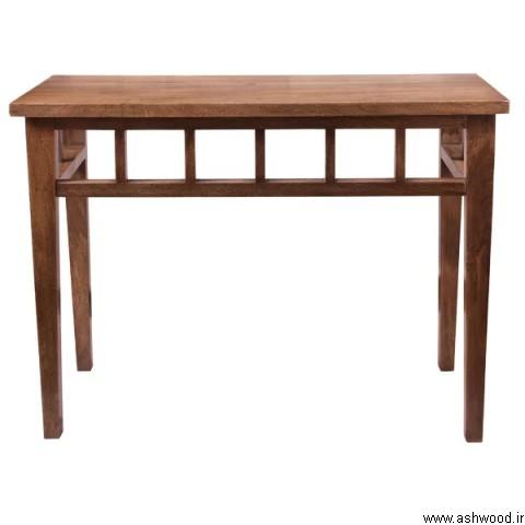 محبوب ترین دکوراسیون چوبی ,  میز کنسول چوب طبیعی