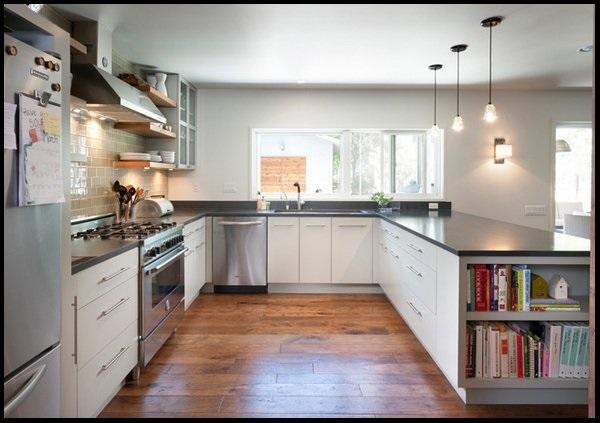 آشپزخانه به شکل U