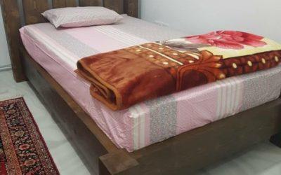 نمونه کار تخت خواب روستیک ساخت مهرماه 2018