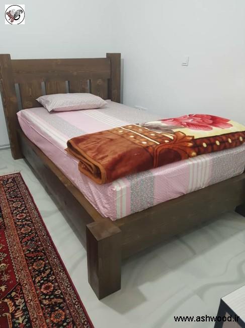 تخت خواب سبک روستیک , نمونه کار خانم نوروزی