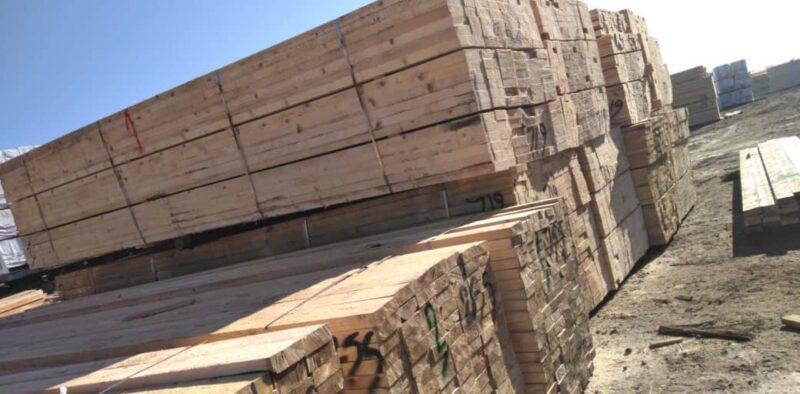 چوب و تخته کاج روسی تحویل بندر استارا