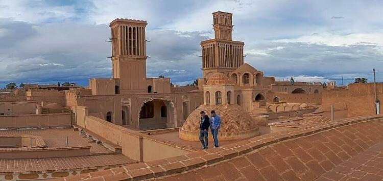 عکس زیبای شهرستان ابرکوه، نشان عظمت و باستانی بودن این شهر