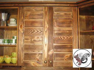 دکوراسیون کابینت تمام چوب ، کابینت کلاسیک ، مدرن سنتی