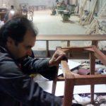 دکوراسیون لوکس و منحصر به فرد چوبی در کارگاه فن و هنر