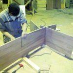 ساخت میز بار آشپزخانه اقای رمضانی