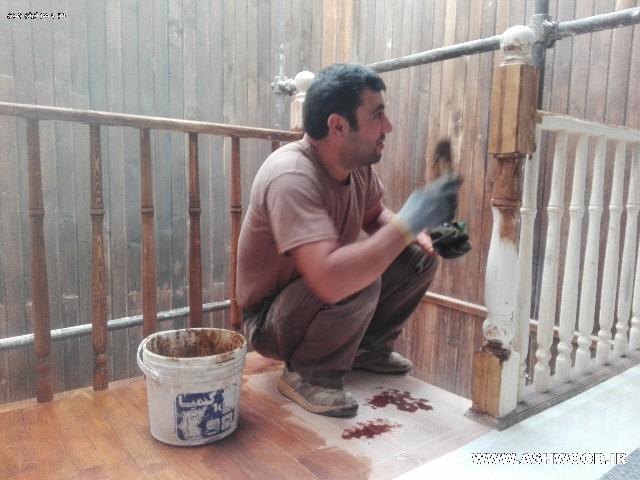 دکوراسیون ویلای چوبی ، دیوارکوب ، کفپوش و سقف کاذب چوبی