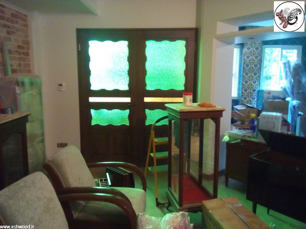 دکوراسیون سنتی چوب راش ، ارسی ، کابینت آشپزخانه چوبی , سنتی و کلاسیک چوبی