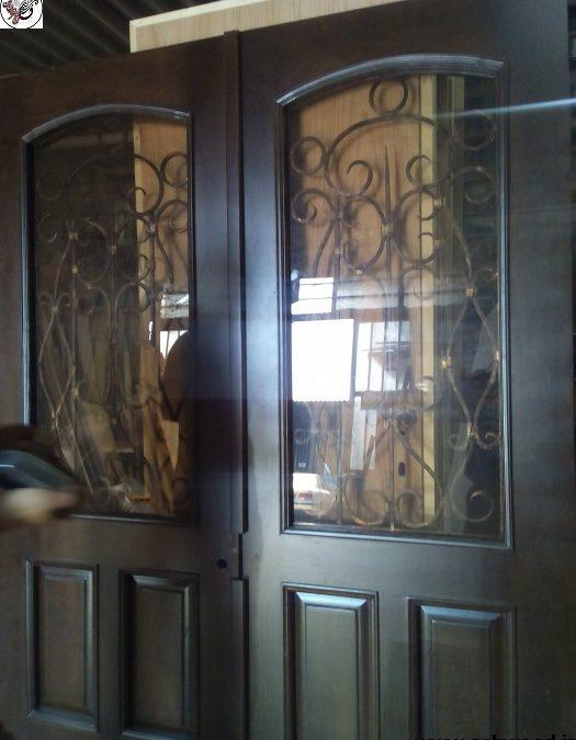 ایده طراحی و ساخت درب های فرفورژه مدرن و کلاسیک