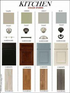 پالت رنگ دکوراسیون آشپزخانه