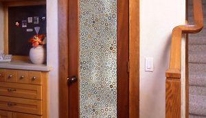 پانل های شیشه خور داخلی , درب داخلی شیشه خور