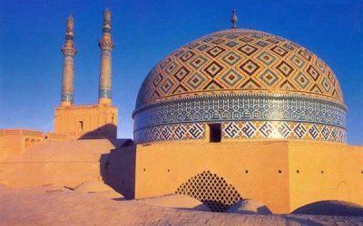 هنر ایران زمین ، مسجد جامع یزد