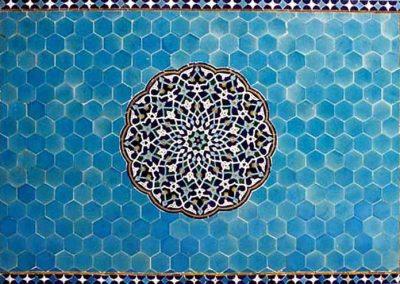 عکس و نمایی از مسجد جامع یزد