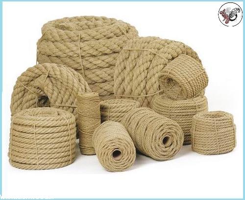 طناب تزئینی ، طناب کنفی ، سبک روستیک و طناب کهنه